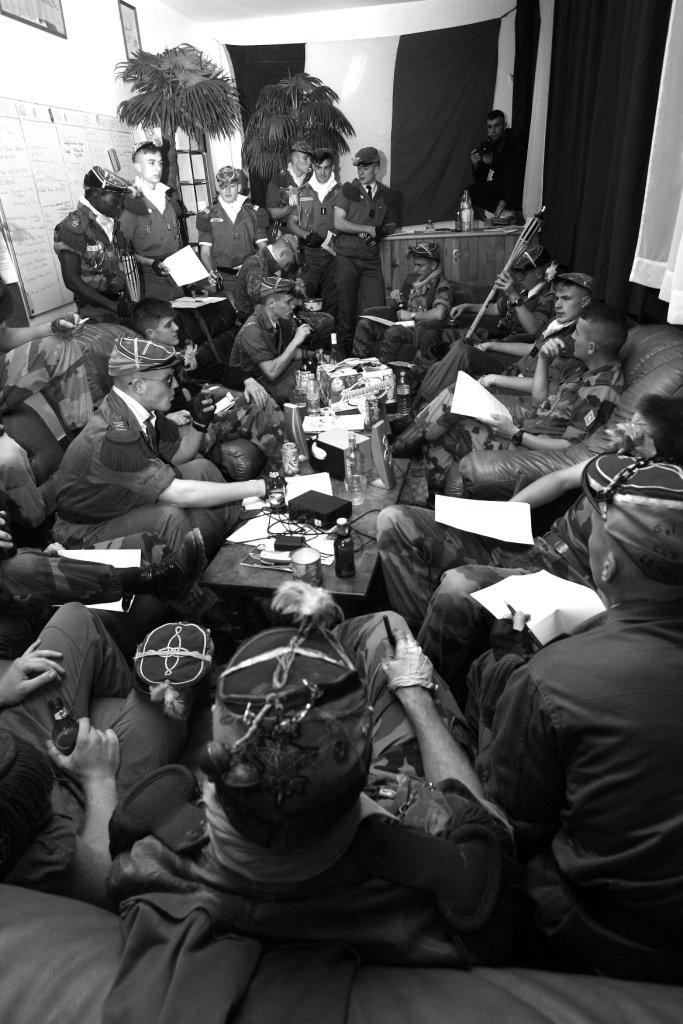 Le Conseil des Fines en réunion