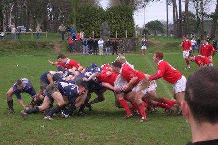 Match de rugby contre Sandhurst