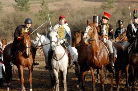Après la charge de cavalerie