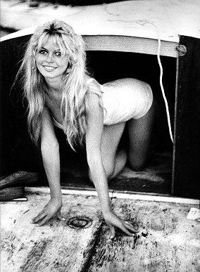 Brigitte Bardot à St Trop'