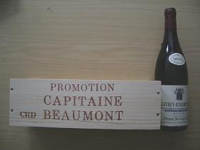 Vin promotion capitaine Beaumont