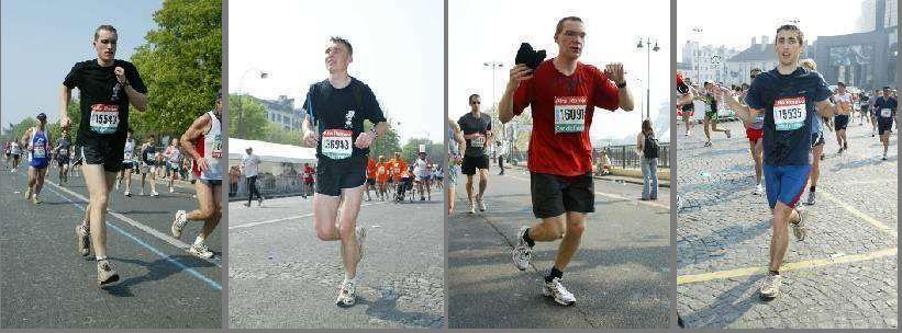 Quelques marathoniens de la promo