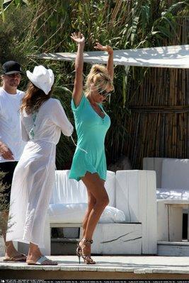 Pamela Anderson sur les quais