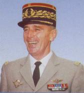 Le général GODINOT, actuel président de la Saint-Cyrienne