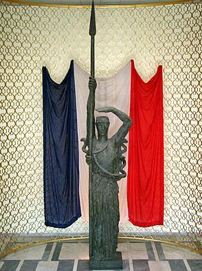 La France, oeuvre d'Antoine Bourdelle