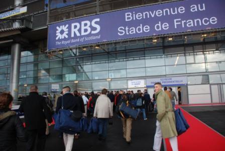 Arrivée au Stade de France
