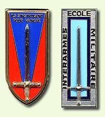 Insignes ESM et EMIA